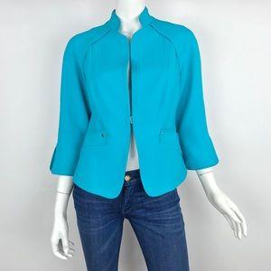 {Etcetera} Blue Voyage Blazer Jacket
